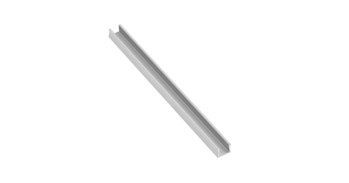 Kép 1/2 - LED Profil, GLAX mikro, csavarozható, 2fm, alu elox