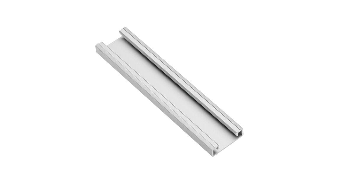 Kép 1/2 - LED Profil, GLAX, csavarozható, 2m, alu elox