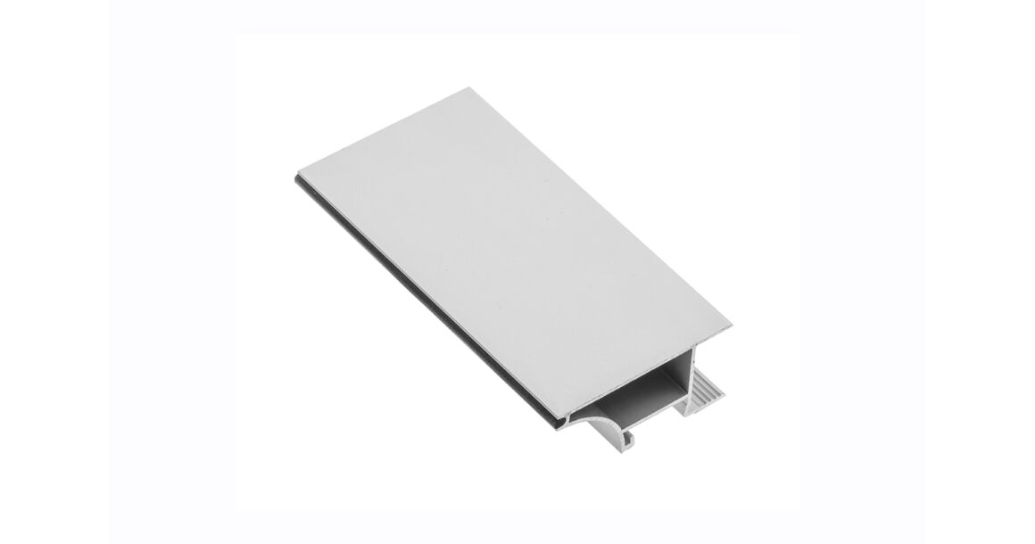 Kép 1/2 - LED Profil, GLAXWN, élre rögzíthető, 2m, 18mm laphoz, alu elox
