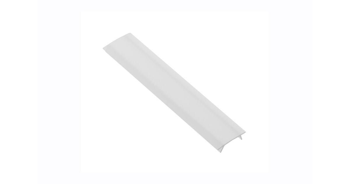 LED Profil takaró a GLAX mini csavarozható profilhoz, opal, 2m