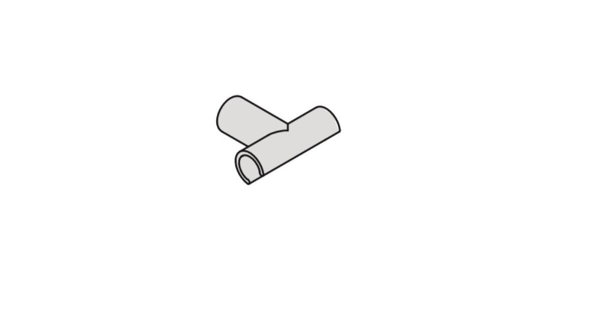 IMPAZ keresztkötő rögzítő, tiszta fehér