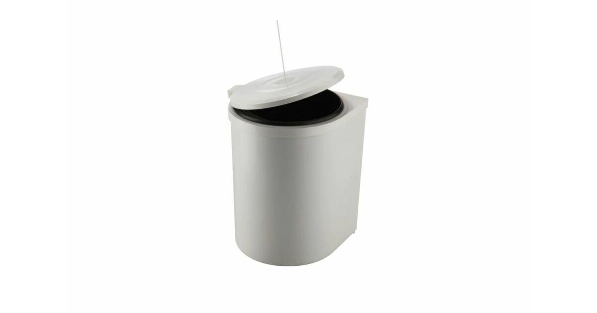 RING kiforduló karos szekrénybe építhető szelektív hulladékgyűjtő 10 L