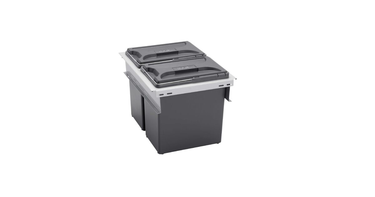 BOXIT ORIGINAL 400 fiókba építhető szelektív hulladékgyűjtő 24 L